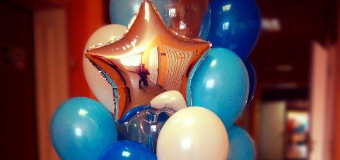 Скидка до 25% на оформление воздушными шарами от «Шарландии»