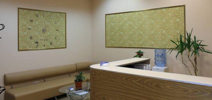 Установка фотополимерных пломб на 1 или 2 зуба + лечение глубокого кариеса в клинике «KievDental»