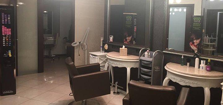 Укладка и макияж (дневной или вечерний) в салоне красоты «Ansi beauty»