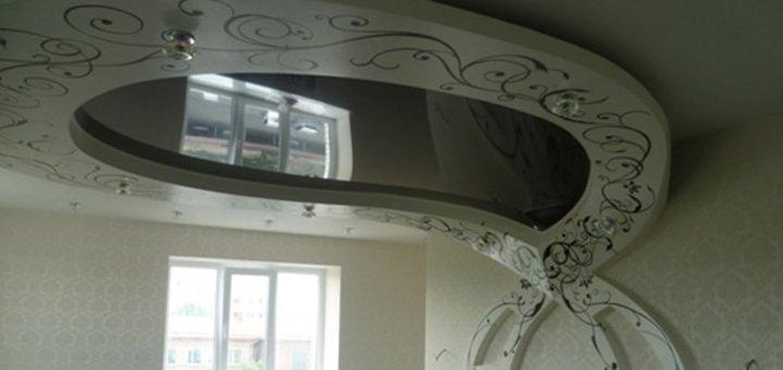 Скидка до 61% на 10, 20, 30 или 50 кв.м. натяжного потолка «SkyLine»