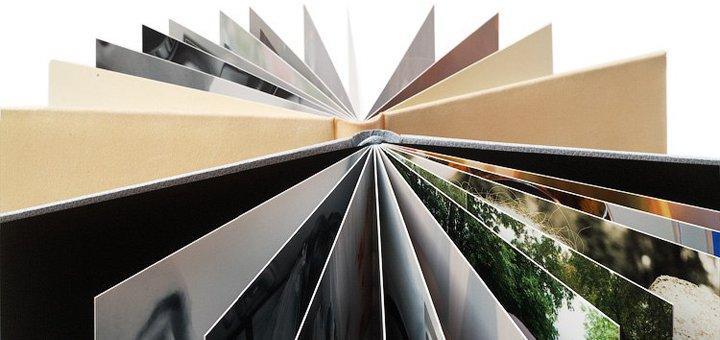 Печать фотокниги SlimBook на фотобумаге разного формата в студии «Фотокнига+»