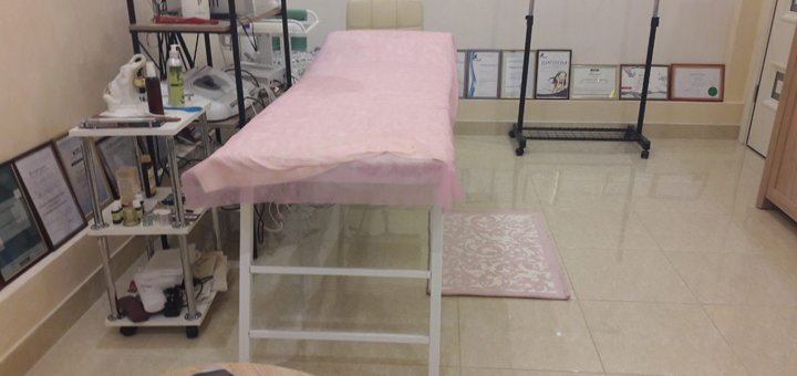 УЗ чистка чистка кожи лица в косметологическом кабинете «У Ольги»