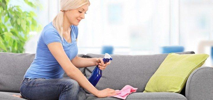Химчистка мебели и ковров от клининговой компании «Clean group»