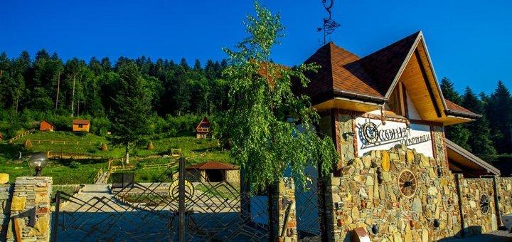 От 3 дней отдыха с завтраками в отельном комплексе «Осоння Карпати» во Львовской области