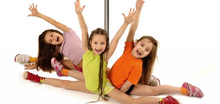 До 3 месяцев занятий Pole Dance для детей в школе танцев «Pole Energy»