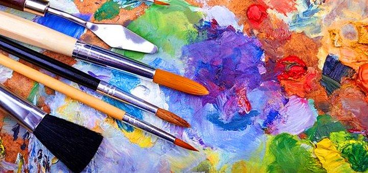 Мастер-класс по масляной живописи «Тюльпан» или «Птичка» в студии живописи «Рисовалки»