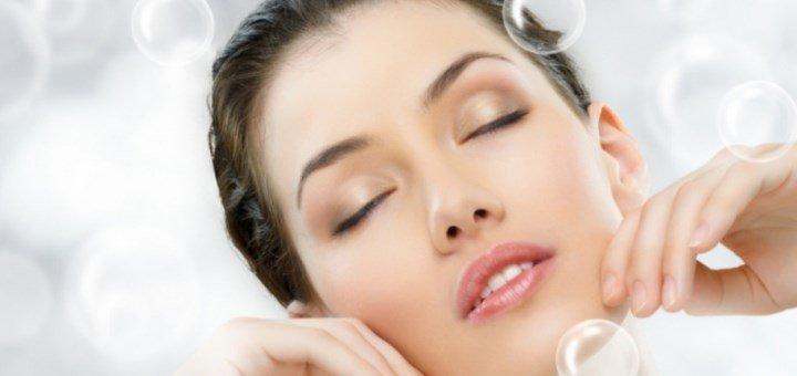 Скидка 30% на кислородное омоложение лица в салоне красоты «Надія»