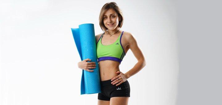 Разработка индивидуальной программы тренировок от фитнес тренера Ханны Яковенко