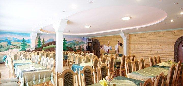 От 4 дней горнолыжного отдыха с завтраками и баней в отеле «Высокий перевал» в Вышкове