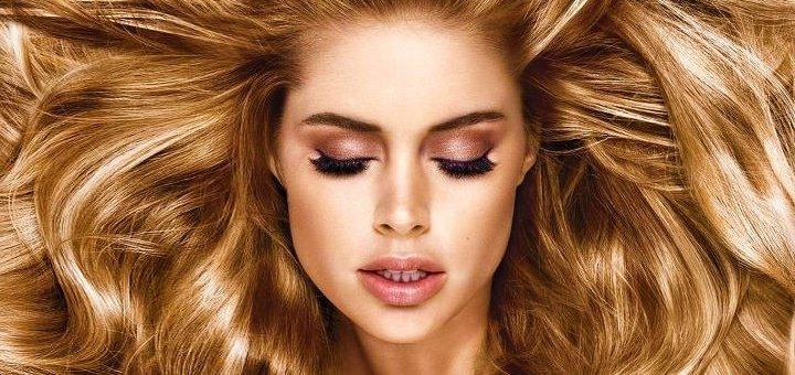 Лечение волос огнем, укладка, окрашивание, брондирование, омбре в салоне красоты «Sofina»