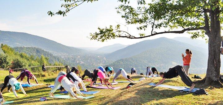 Четырехдневный йога-спа-тур «Путь к себе» в Буковель и Яремче от центра «Пектораль природы»