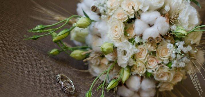 Скидка 10% на свадебную флористику от цветочной студии «AnneMaria»