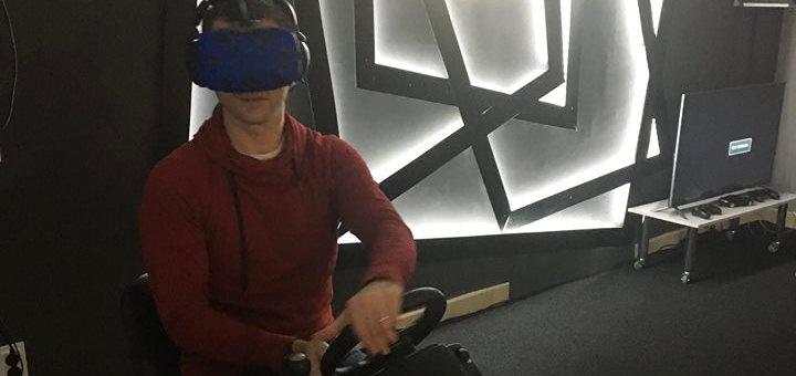 Скидка 50% на 30 или 60 минут игры в клубе виртуальной реальности «Open VR»