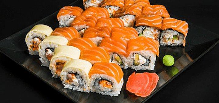 Скидка 50% на всю японскую кухню с доставкой или самовывозом от компании «Оpera»