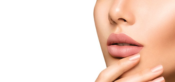 Скидка 65% на татуаж губ в центре красоты и здоровья «Оберег»