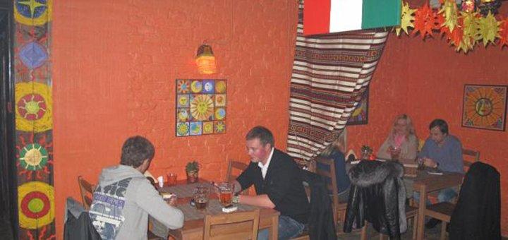 Знижка 40% на все меню кухні в ресторані «The Mexican»