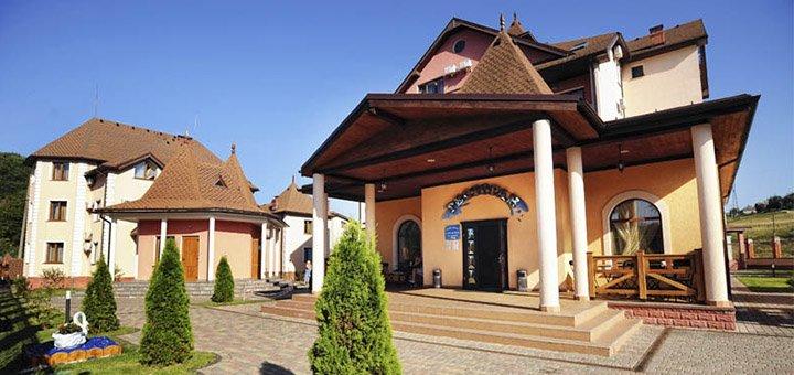 От 3 дней отдыха в оздоровительном комплексе «Срібний Водограй» в Поляне