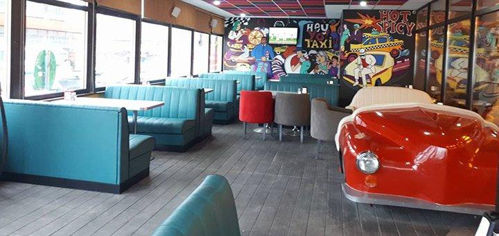 Ужин в ресторане «Yellow Taxi Bar»