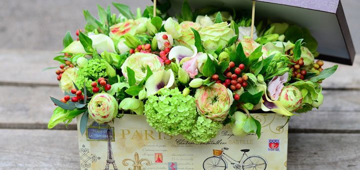 «Полезный букет» для дорогого человека с доставкой от «Flowers Market»