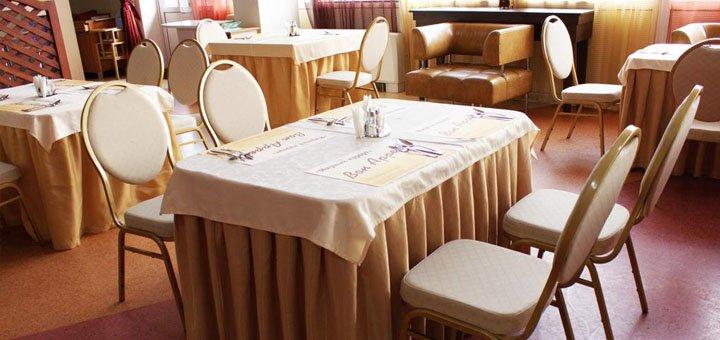 От 2 дней романтического отдыха с двухразовым питанием в отеле «Мирный курорт» в Одессе