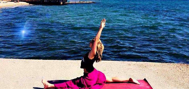 До 36 занятий Fit Yoga в центре Одессы под руководством «Morgan Fit»