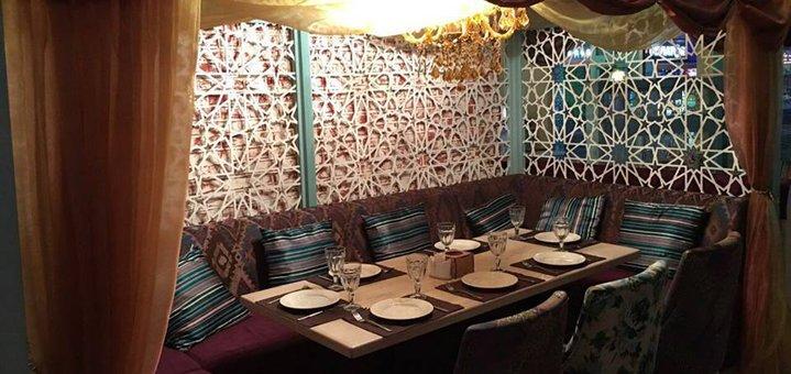 Скидка 50% на меню кухни и караоке в ресторане восточной кухни «Bakht Arkadia»