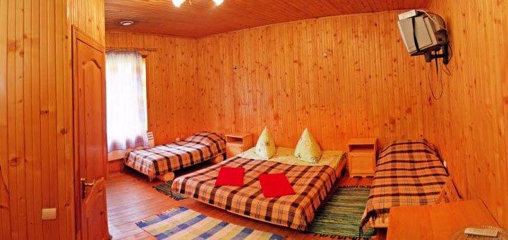 От 4 дней отдыха с питанием и посещением бани в отеле «Виват» в Карпатах