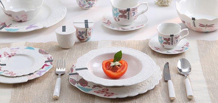 Скидка -15% на фарфоровую посуду в интернет-магазине «Domadom.com.ua»