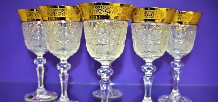 Скидка 20% на весь чешский хрусталь и богемское стекло