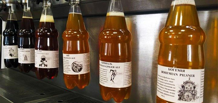 Скидка 50% на крафтовые эли и лагеры в сети пивомаркетов «Тандем»
