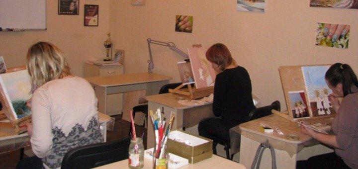 До 10 занятий акварельной живописью в студии художественного творчества «Арт-палитра»