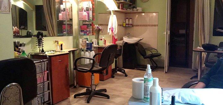 Горячее итальянское наращивание волос в салоне красоты «Гламур»