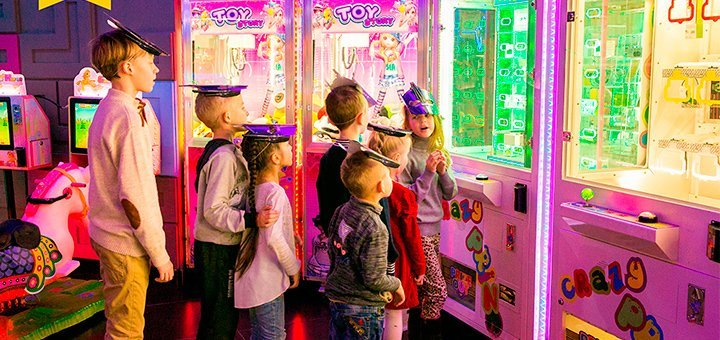 Празднование детского дня рождения в развлекательном центре «PLAY CITY»