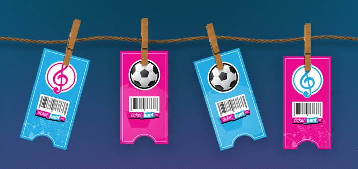 Максимальные скидки 30% на билеты от «tickethunt»