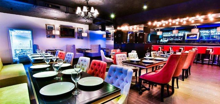 Скидка 50% на меню кухни, алкогольные коктейли и кальяны в ресторане «Яблоко»