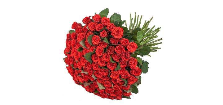 Скидка 10% на букет из 101 розы Эль Торо!