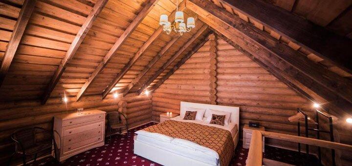 От 4 дней отдыха с посещением SPA-центра в отеле «Monastic» в Карпатах