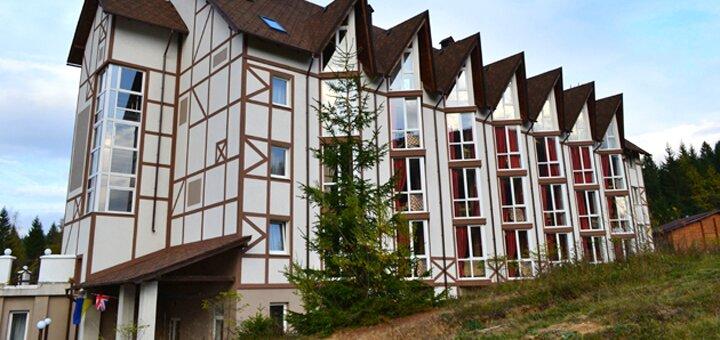 От 4 дней зимнего отдыха в отеле «Терем» в Славском