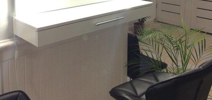 Маникюр с покрытием гель-лаком и дизайном в салоне красоты «UpLook»