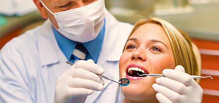 Установка фотополимерных пломб + лечение кариеса в стоматологической клинике «Cosmos Dental Technology»!
