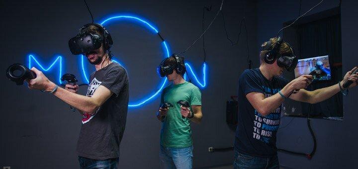 Скидка 50% на один час игры в клубе виртуальной реальности «MirVR»