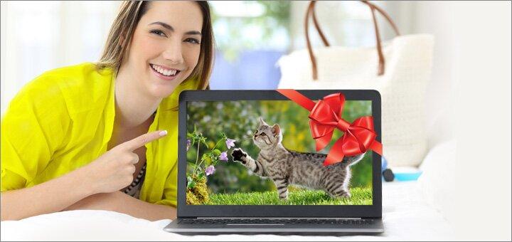 Скачайте бесплатный пробный урок курса, и выиграйте ноутбук за любознательность!