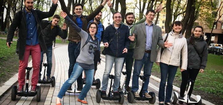 Скидка 50% на катания на гироскутерах «smart balance» или «ninebot mini» от «KievMotion»