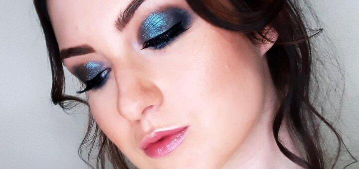 Вечерний макияж, укладка волос, экспресс плетение или локоны в студии красоты «BALI»