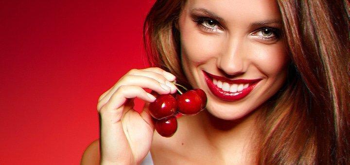 До 3 сеансов ультразвуковой чистки зубов с глубоким фторированием в стоматологии на А.Поля