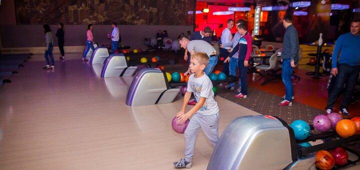 Скидка 50% на игру в боулинг в развлекательном комплексе «City Bowling»
