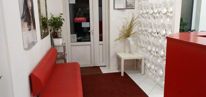 Лечебная стрижка волос 6 длины горячими ножницами «Ягуар» в салоне красоты «Fen-x»