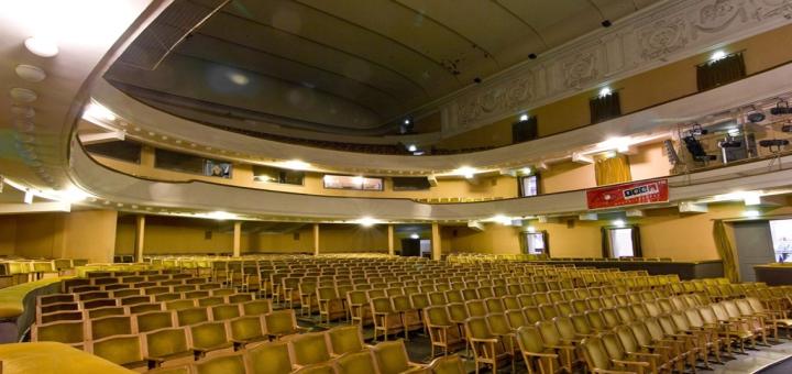 Скидка 50% на билеты на комедийный спектакль «Мужская логика» в Украинском театре