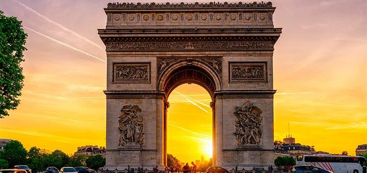 Скидка 10% на автобусный тур «Блиц Франция» от туристического агентства «Pride Travel»