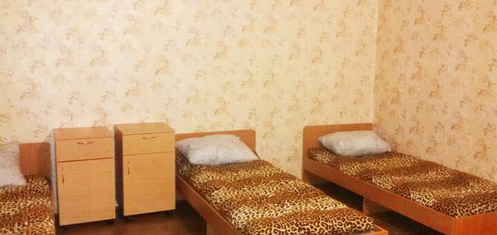 От 3 дней отдыха для компании в гостевом доме «Арника» в Стрелковом на Азовском море
